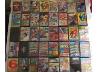 Spectrum cassette tape games