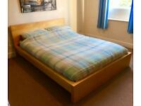 ⭐️IKEA Malm Double Bed Frame (no mattress) LOOK!⭐️