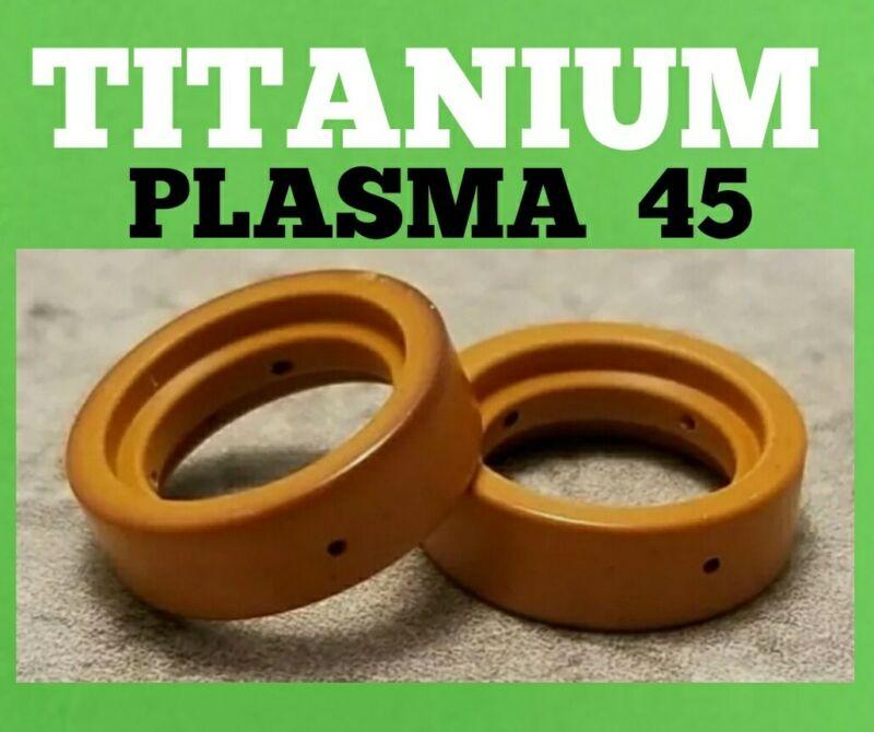 (2 PC) Swirl Ring for Harbor Freight Titanium Plasma 45 Plasma 56255 56811 56576
