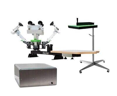 Screen Printing Kit Press Flash Dryer Exposure Unit Screens Amd More