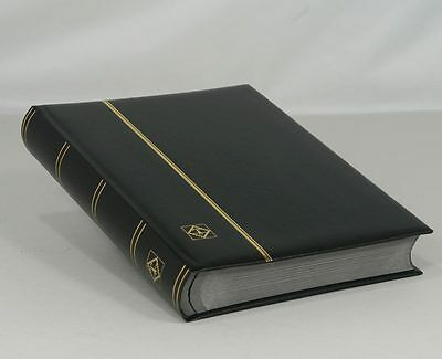 Lighthouse Leatherette Stockbook (64 Black Pgs.) Black - LSP4/32 - Free Shipping