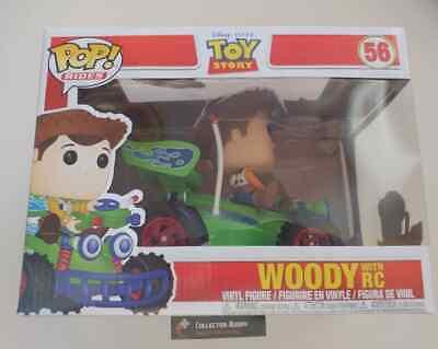 Funko Pop! Rides 56 Disney Toy Story Woody with RC Pop Vinyl FU37016