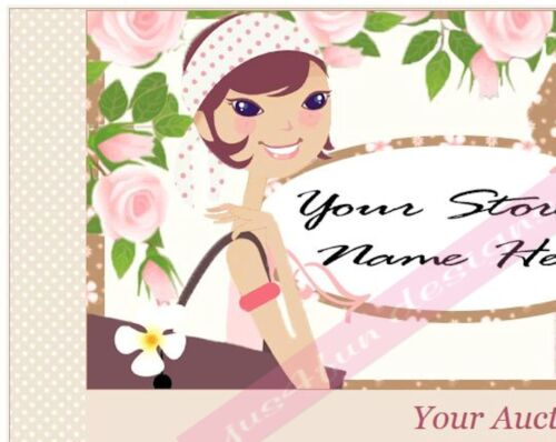 Window Dressing eBay Auction Template Listing Template Boutique Template