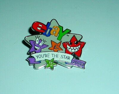"EBAY YOU'RE THE STAR 1"" PIN"