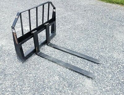 48 Pallet Forks Us Made For Skid Steer Bobcat Quick Attach Local Pickup Only