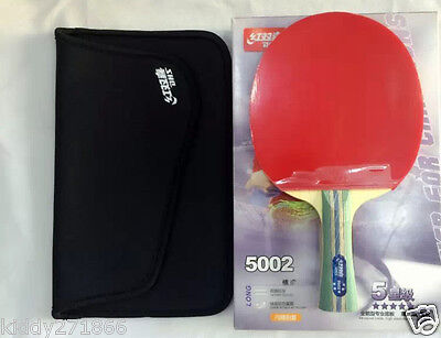 Table Tennis Rackets Shake-hands Grip 5 Star Paddle Bat Long Handle DHS 5002 A, used for sale  Shipping to Canada