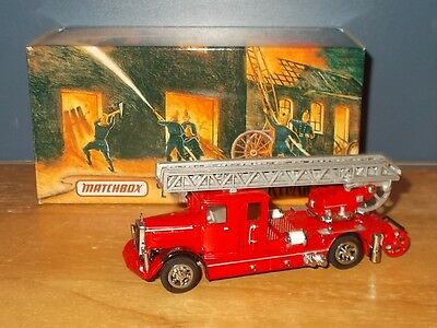 Matchbox Collectibles Fire Series YFE05 Mercedes Benz Ladder Truck Issue 5