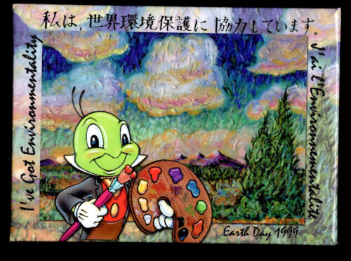 Disney I've Got Environmentality Earth Day 1999 Button