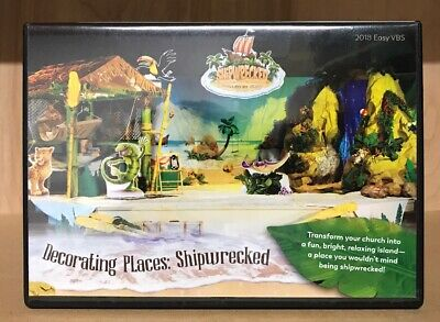 VBS Shipwrecked Decorating Places (2018, DVD) ~ Easy VBS ~ VERY - Vbs Decoration