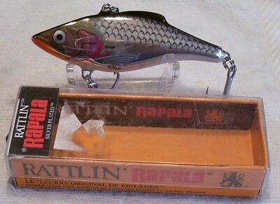 5 cms Rapala Rattlin Rap :- RNR05 in Silver 11 grams New S