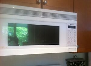 Over the range Panasonic microwave