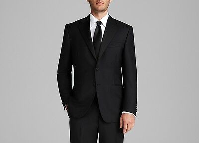 $2895 CANALI Men's BLACK TUXEDO SUIT JACKET Wool Blazer Italy US 40 EU 50 for sale  Inwood