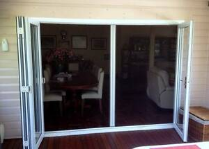 Retractable Fly Screens suit Bi Fold Window French Door Casement Oatley Hurstville Area Preview