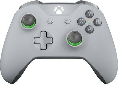 Microsoft Xbox One Wireless Controller - Grey/Green
