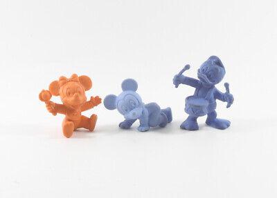 Baby Micky + Neffen Walt Disney 3 bunte - Baby Disney Figuren