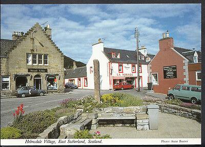 Scotland Postcard - Helmsdale Village, East Sutherland  A3214