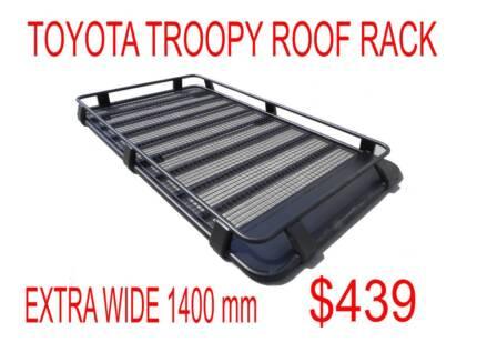 TOYOTA TROOPY FULL STEEL ROOF RACK