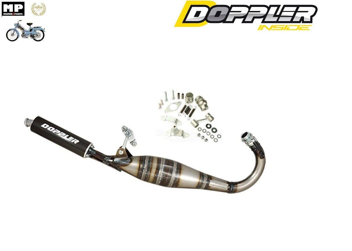Pot d' Echappement Racing Doppler ER1 Mobylette MBK 51 avec Rotule ET fixation