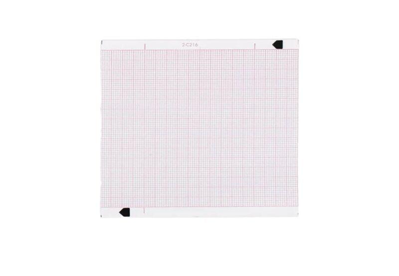 (10) NOVAPLUS Zoll ECG Machine Recording Red Grid Paper 8000-0300 EKG Chart Roll