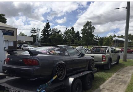 Ute and trailer available any time