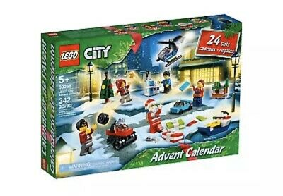 LEGO CITY 60268 Christmas Advent Calendar MINIFIGURES 24 Gifts 2020 NEW Freya