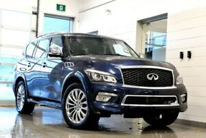 2017 Infiniti QX80 TECH PACKAGE LOW KILOMETERS