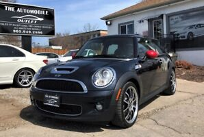 2009 Mini Cooper S S LOW KMS AUTOMATIC NAVI PANO ROOF CERTIFIED