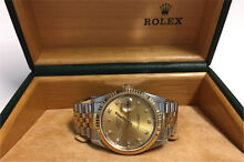 Mens Rolex DateJust 18k Quickset 16233 Kangaroo Point Brisbane South East Preview