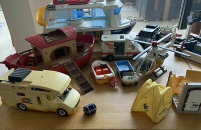 MASSIVE JOB LOT OF PLAYMOBIL ITEMS - SOME HARD TO COME BY