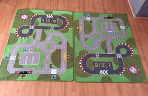 2 x IKEA car/traffic/race track mats Butler Wanneroo Area Preview