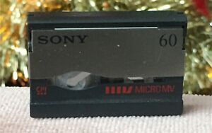 MICROMV CAMCORDER TAPES TO HARD DRIVE!