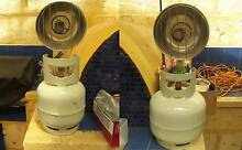 2 x Camping Wild Country Gas Radiator Heater+3.7kg LPG Gas Bottle Balcatta Stirling Area Preview