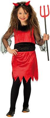 Kleine Teufelin Kostüm NEU - Mädchen Karneval Fasching Verkleidung (Kleines Mädchen Kostüm)