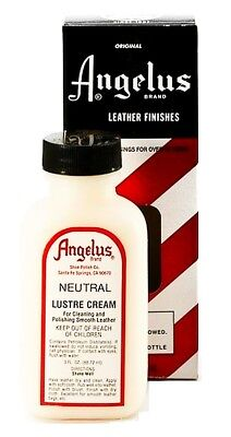 NEUTRAL color Angelus LUSTRE CREAM Cleaner Polish Conditioner Leather shoes boot