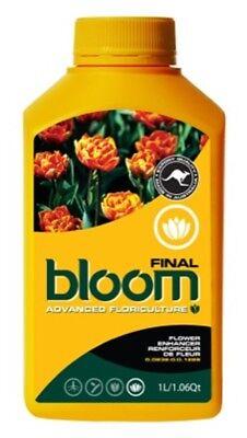Advanced Floriculture Bloom FINAL 1L 1 Litre YB Yellow Bottle