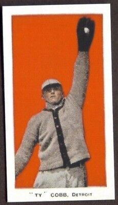 Swamp Backdrop (Ty Cobb Card Rp Red Background Black Swamp Tigers)