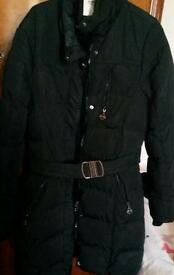 warm coat size 14