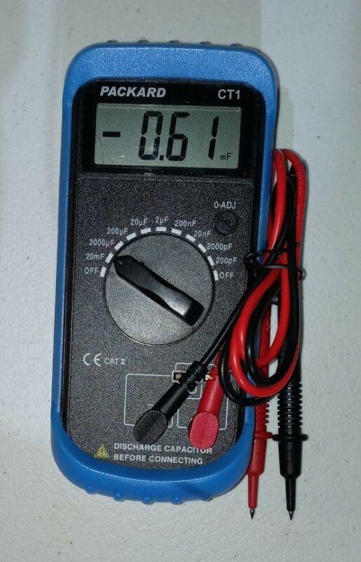 CT1 Digital Capacitor Test Tester Meter 2 - 2000 mfd