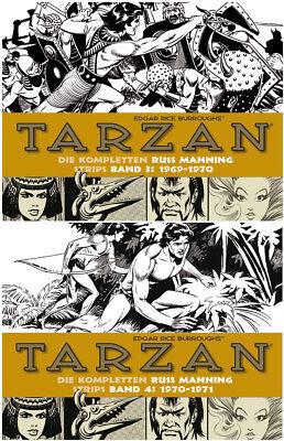 Tarzan, BOCOLA Verlag, Die kompletten Russ Manning Strips, Band 3 & 4