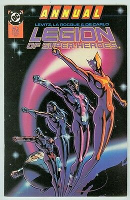 Legion of Super-Heroes Annual #3 VF/NM 1987