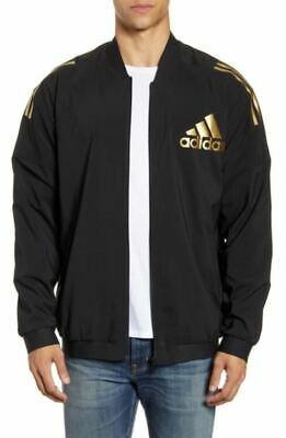 NEW ADIDAS MEN'S SPORT ID WOVEN 3 STRIPES TRACK JACKET~ SIZE LARGE  #DX7717