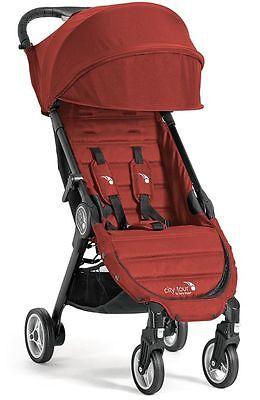 Baby Jogger City Tour 2016 Lightweight  Compact Travel Stroller garnet w Bag NEW