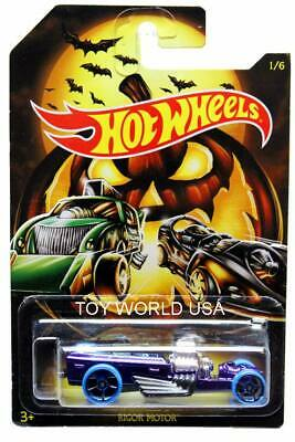 2019 Hot Wheels Exclusive Happy Halloween Fright Cars #1 Rigor Motor