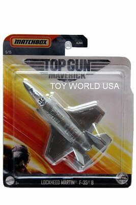 2020 Matchbox Sky Busters Top Gun Maverick #5 Lockheed Martin F-35 B