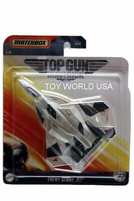 2020 Matchbox Sky Busters Top Gun Maverick #2 Enemy Strike Jet