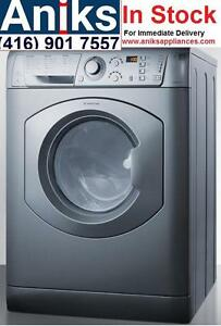 Ariston ARWDF129SNA 24in All-In-One Vent-less Washer Dryer Combo Made in Italy 110v for Condos, Apartments and RVs