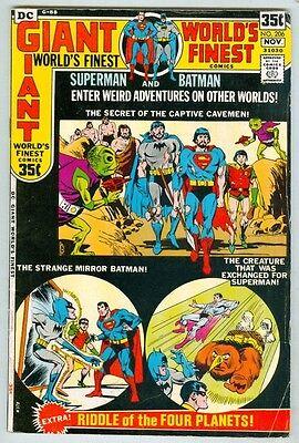 World's Finest #206 October 1971 VG 64-PG Giant