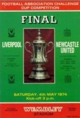 1974 FA CUP FINAL - LIVERPOOL v NEWCASTLE