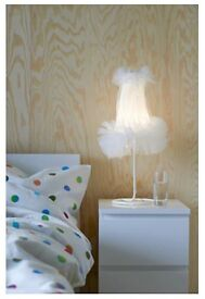 White IKEA Malm bedside table (two drawers) - never used!