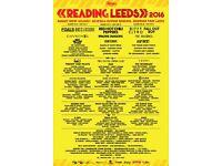 Leeds Festival Full Weekend Tickets £170